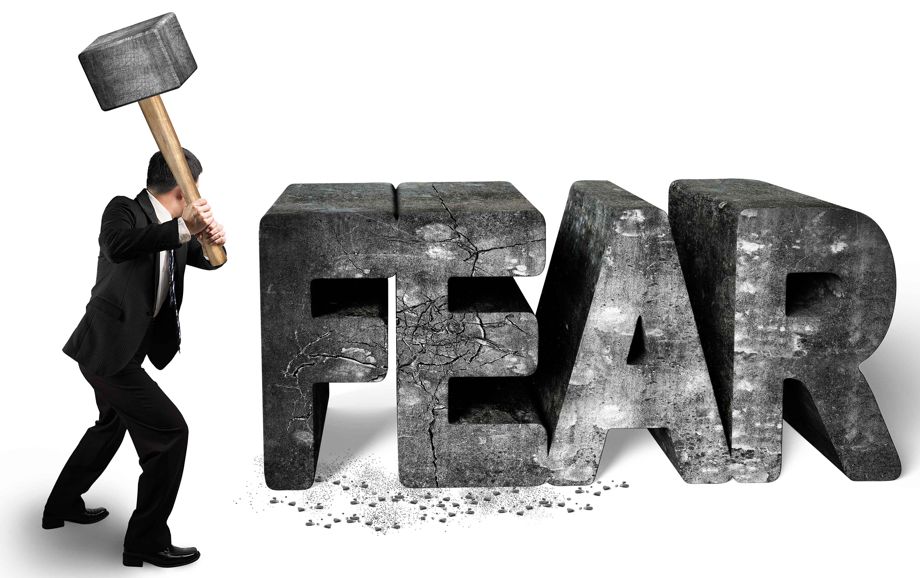 conquering fear Learn how phobias and irrational fears can be managed and overcome  but when it comes to conquering phobias, facing your fears is the key while avoidance may.